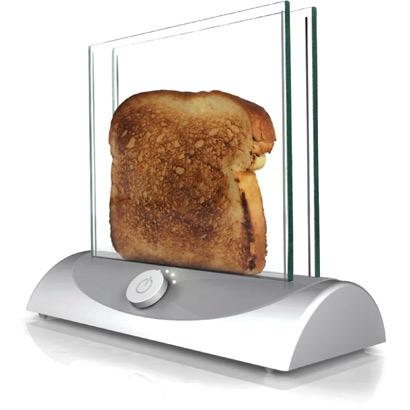transparent toaster?!
