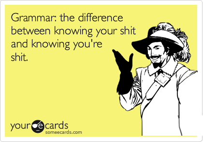 For the grammarians