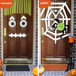 Halloween DIY door