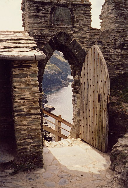 Stairway to the Sea – Tintagel, Cornwall, UK