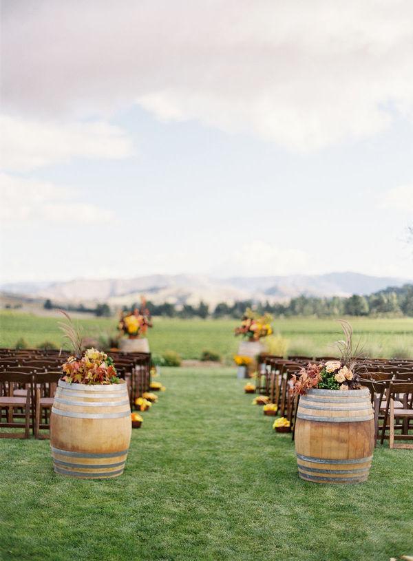 love fall+ outdoor weddings