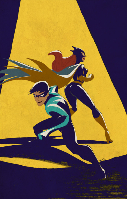 Dick and Babs. ♥ ♥ ♥