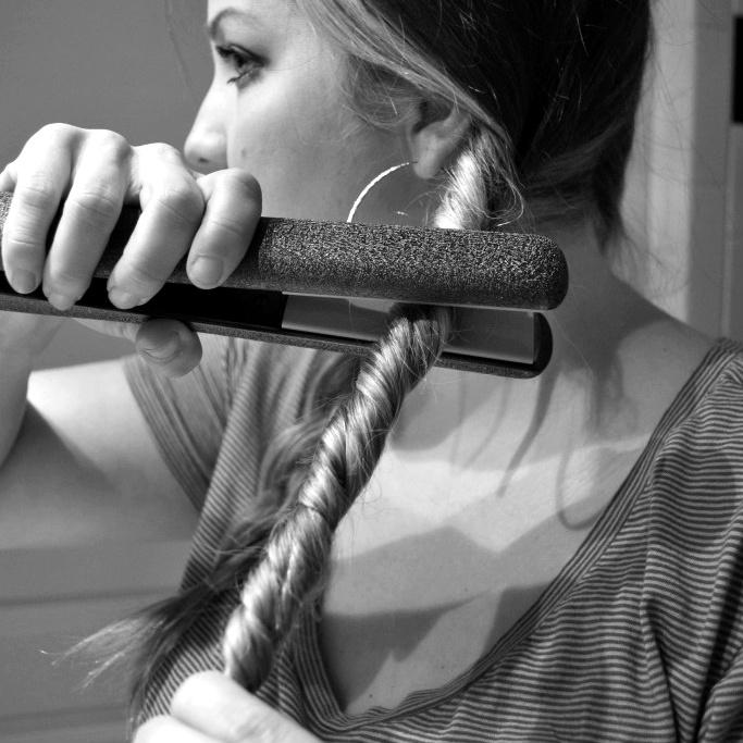 Braid, twist, flat iron