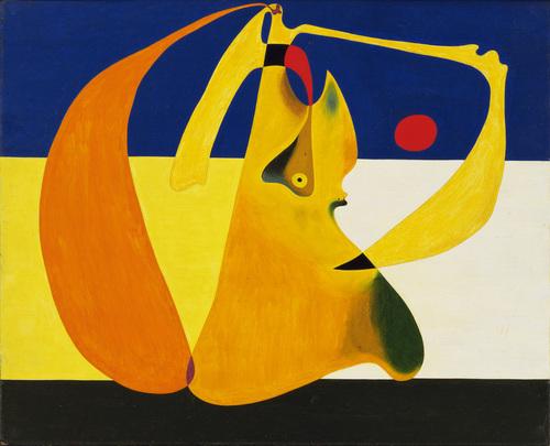 """Joan Miro """"Bather"""""""