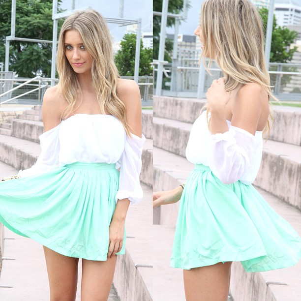 sabo skirt  #SephoraColorWash