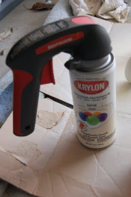 "Best spray paint ""investment"" ever! Spray paint hand gun – $6 at Home"