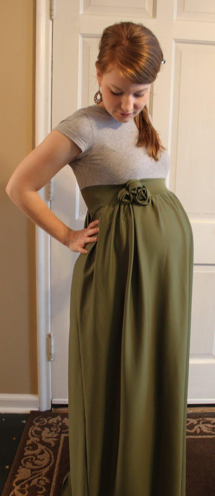 DIY maternity dress! So Cute!!!