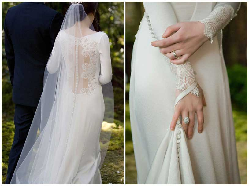 twilight wedding dres