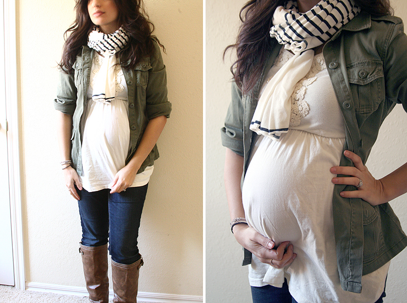 Dressing the bump: Lots of ideas for making your regular clothes work during pre