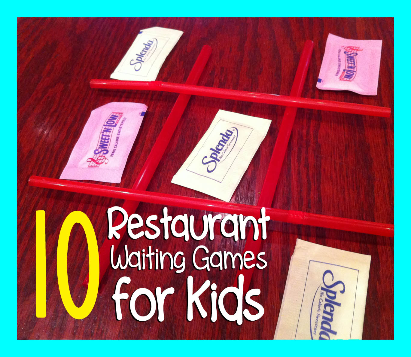 10 Restaurant Waiting Games to Play with Kids «