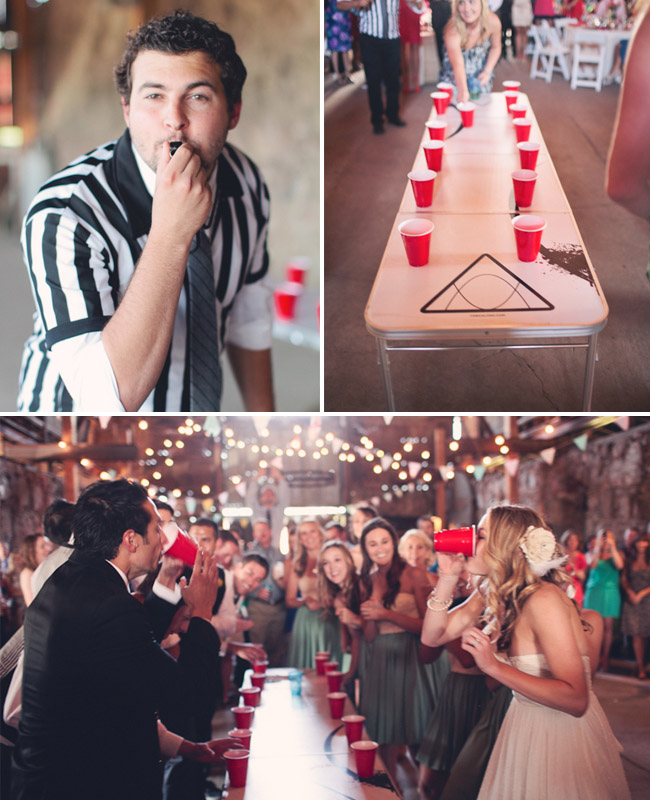 rehearsal dinner…bridesmaids verses groomsmen…..this will be happening at my