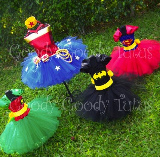Finally, girly superhero outfits!