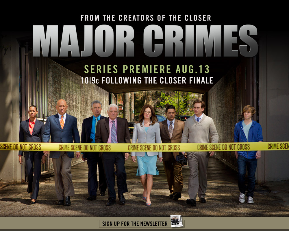 Major Crimes on TNT