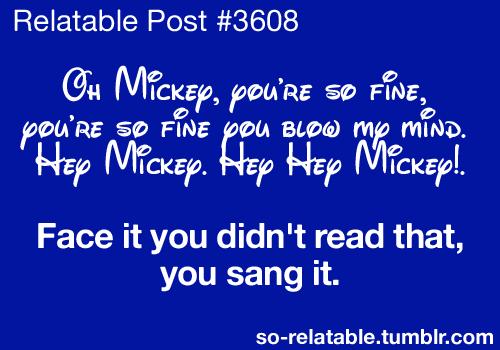Still singing! Haha!