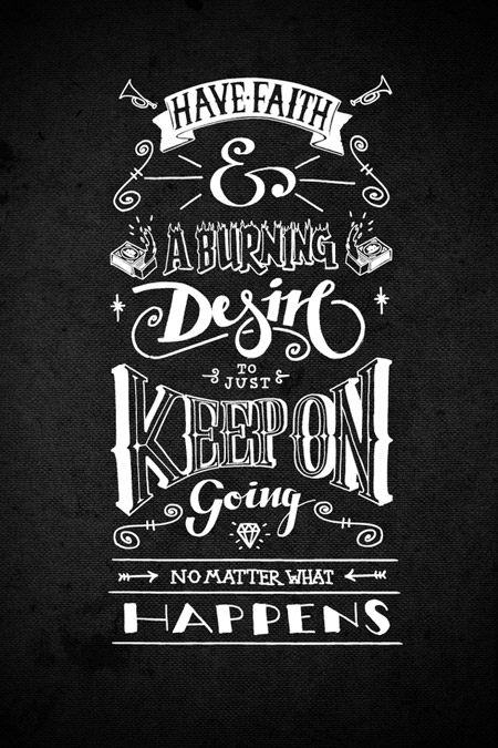 Lettering Experiments by Jon May
