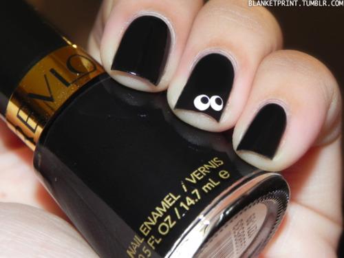 13 Manicures of Halloween – Day 12  Color: Black Lingerie (Revlon)Retail Price: