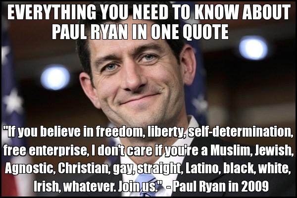 Paul Ryan. Yes.