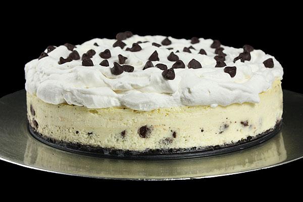 Grace's Sweet Life Vanilla Bean-Chocolate Chip Cheesecake with Oreo Cookie C