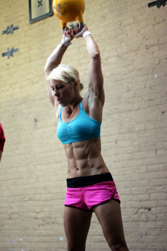 Women of cross fit! Strong is the new skinny!
