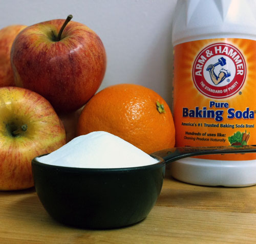 Scrub Your Veggies With Baking Soda (and Other Tips).