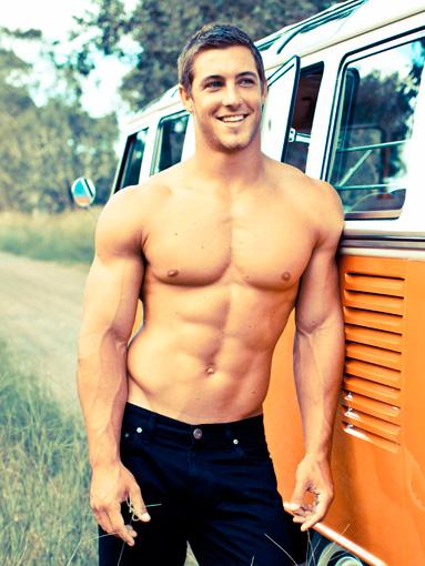 Kayne Lawton. Australian rugby player.  OH. MY. GOSH. ;)
