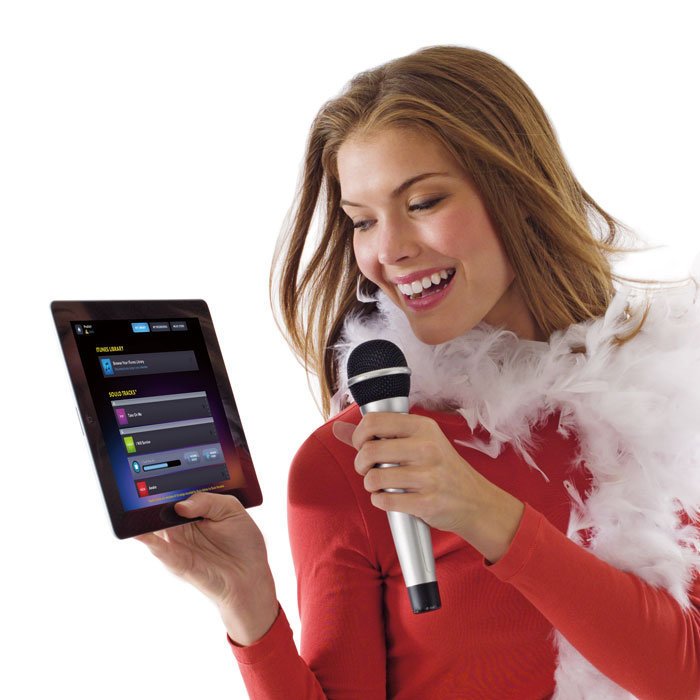 Sing along with streaming music and lyrics (with pitch enhancement!)