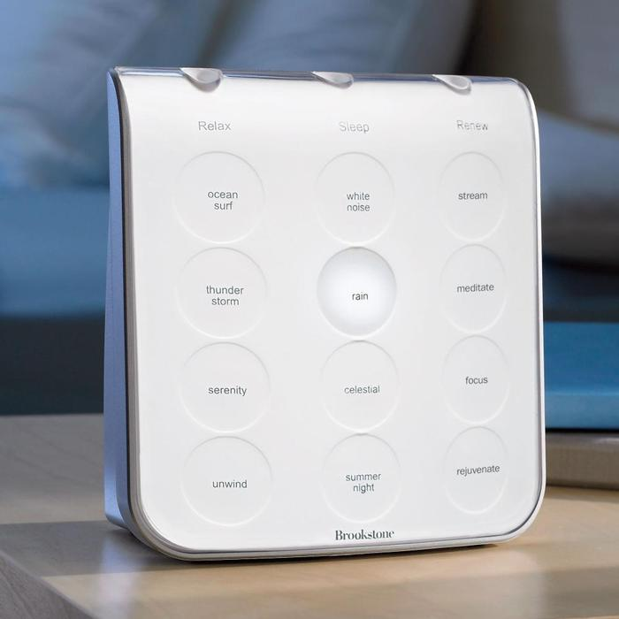 Sleep better with our clinically proven sleep sound machine.