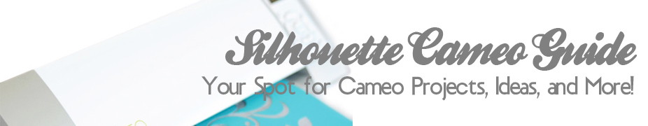 Silhouette Cameo tips, projects, ideas…