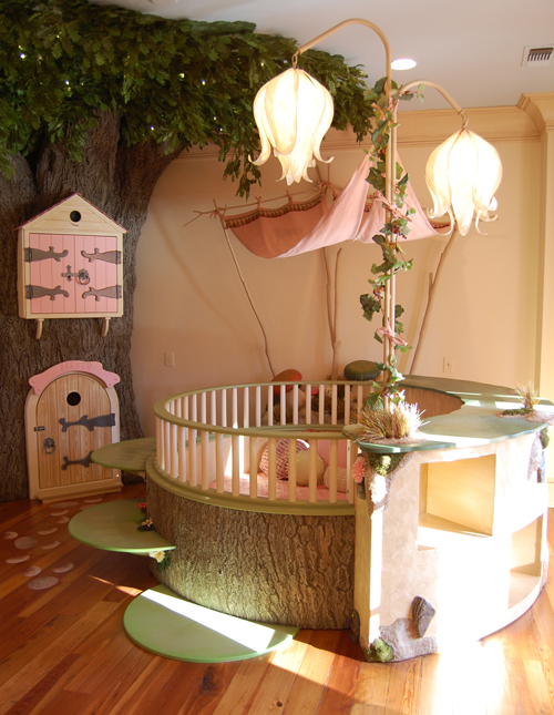 Fairy Land kid's room by Kidtropolis. Why can't they make this adult-sized? I ha