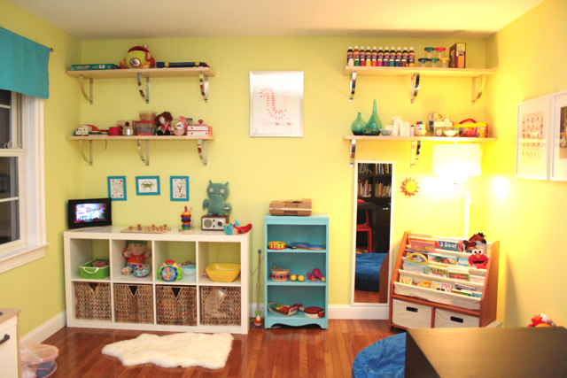 Well, I don't want a kid, so I wish for a daycare that is as pretty as this!
