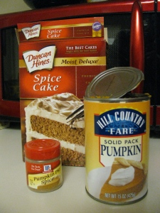 I make these pumpkin muffins every fall – they are SO amazing, and SO easy! Spic