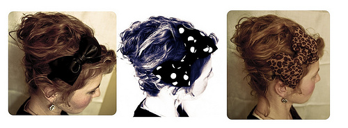 DIY bow headbands =]
