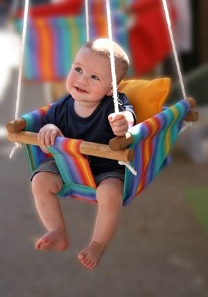 Kids swing cute DIY