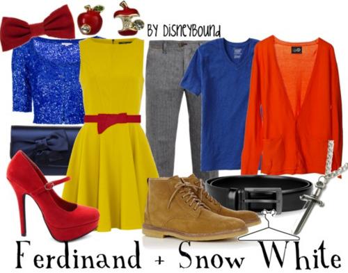 Disneybound Snow white