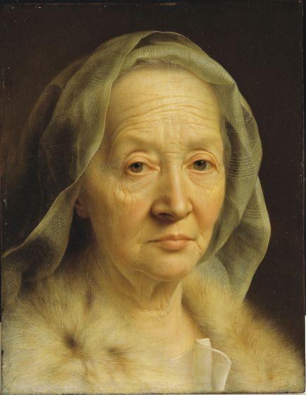 Portrait of an Old Woman   Harvard Art Museums