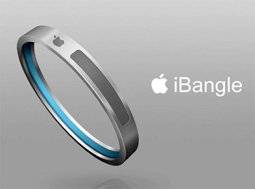 This MP3 player is in the form of a bracelet or bangle, hence the name. It featu