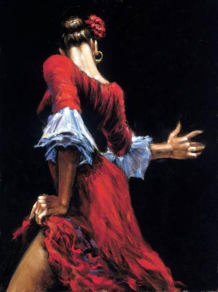 Flamenco dancer flamenco