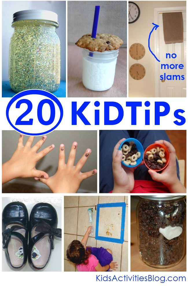 20 Kid Tips to help make life easier – I wish I had known some of these 20+ year
