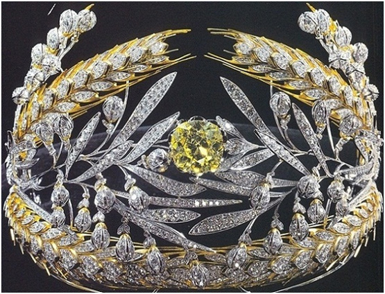 Crowns and Tiaras: Russian Field Diadem
