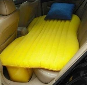 Inflatable car bed for foco nights