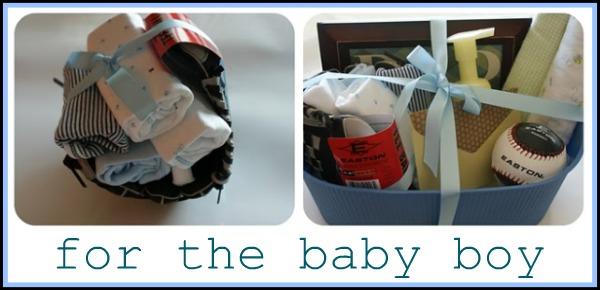 Baby boy shower gifts