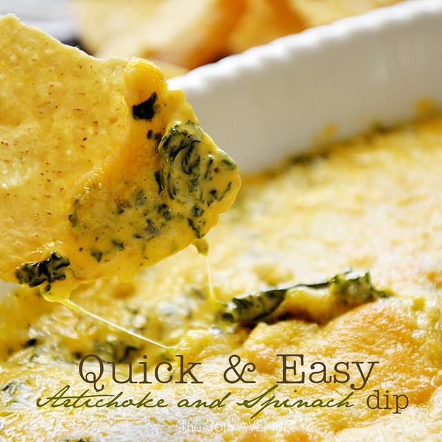Quick and Easy Delicious Artichoke Spinach Dip