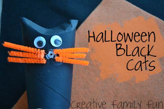 Halloween Cats ~ Creative Family  ~ What are your favorite Halloween crafts?