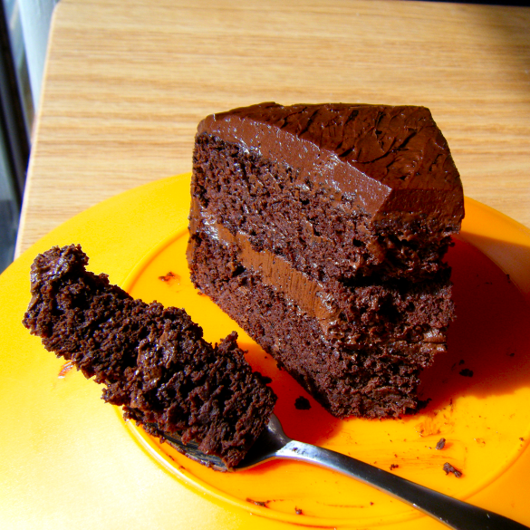 Healthy Chocolate Cake with a Secret….Black Beans!