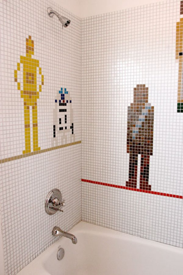 Star Wars Shower! Star Wars Shower!! Star Wars Shower!!!