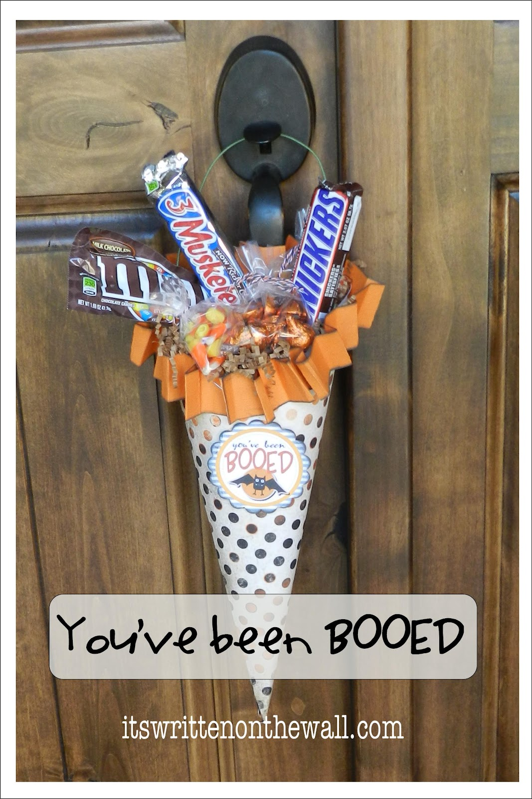 (Freebie) You've been BOOed Halloween Treats – Free Printable and tutorial f