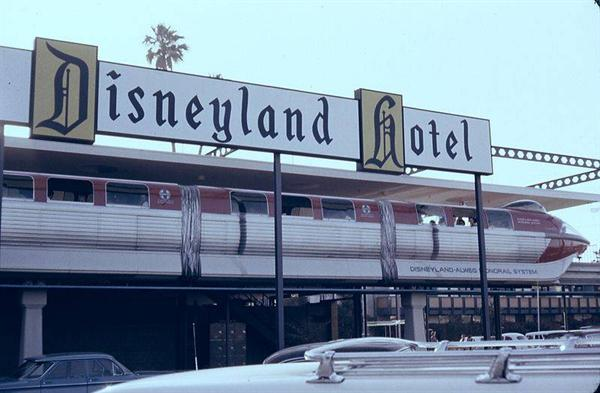 On October 5, 1955, Disneyland Hotel opens to the public in Anaheim, California.
