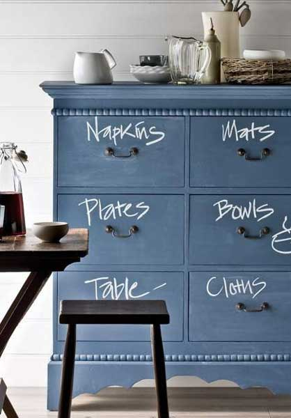 Some fun and creative DIY crafts using chalk board paint and your imagination.