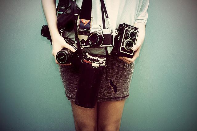 Cameras, cameras!