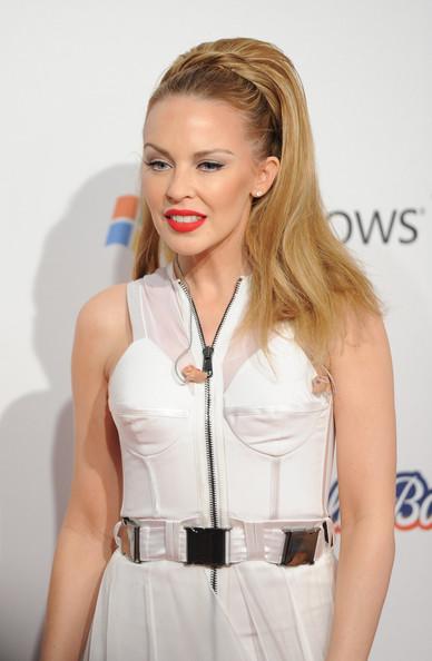 Kylie Minogue Half Up Half Down